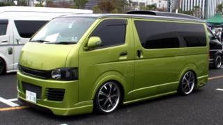 2011 HIACE CUSTOM CAR SHOW JAPAN TOKYO Part1 SBM スタイルボックスミーティング 614059 YouTubeMix