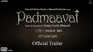 Video Padmavati | Official Trailer | 1st December | Ranveer Singh | Shahid Kapoor | Deepika Padukone MP3, 3GP, MP4, WEBM, AVI, FLV Oktober 2017