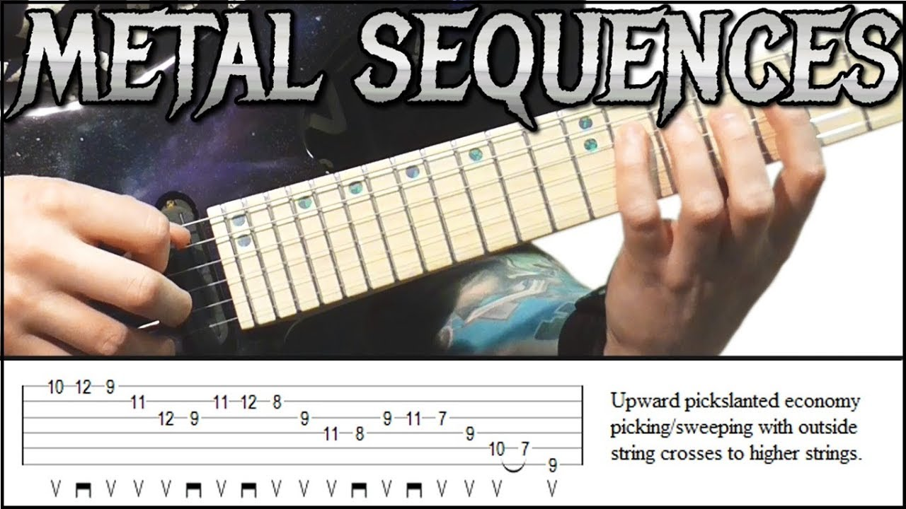 Metal Guitar Scale Sequences