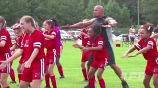 Nonton Fast 8: Dwayne Johnson Teaches a Girls' Soccer Team on Set Film Subtitle Indonesia Streaming Movie Download