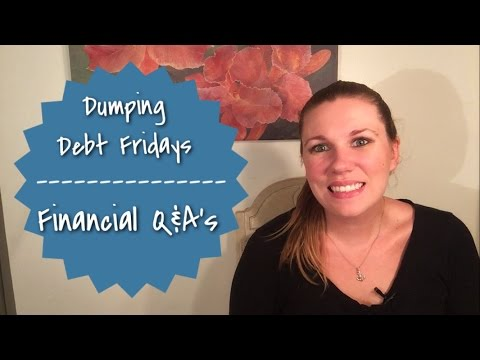 Dumping Debt Fridays | Financial Q&As | What order do I pay my loans?