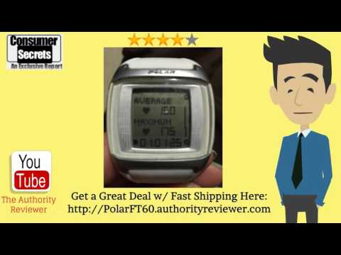 [Review & SALE] Polar FT60 Heart Rate Monitor:  Visit -- http://PolarFT60.authorityreviewer.com -- Polar FT60 Heart Rate Monitor Review. See lowest price w/ fast shipping. Watch this review of the Polar FT60 Heart Rate Monitor...----Get In The Zone With The Polar FT60 Heart Rate MonitorWhether you are getting in shape or training for a marathon, reading a quality Polar FT60 heart rate monitor review site, can help you achieve your fitness goals. It features multiple advanced features that will help you get fit faster and make sure you stay in your target heart rate zone. The watch is attractive and will enhance any fitness plan.The watch displays your heart rate in a few different ways. The first thing it does is display your current heart rate and at the same time, it shows you if you are in your target zone or not and it also shows the percentage of the maximum heart rate you are working with.The Polar FT60 also contains personalized training programs that give you weekly targets and feedback on your training. This is handy when you are training for a 5K or marathon. It is even helpful if you just want to get more fit. Just set up your program and let the watch track your progress.You will also find an accurate calorie tracker that will keep track of how many calories you burn at each workout. You can also see what your calories have been for multiple workouts. You will have an easier time staying in your target heart rate zone and the Polar FT60 is even water resistant.The advanced features of this watch will really help take your workouts to a new level. You will have a much easier time staying in your target heart rate zone and you won't have to worry about working your heart out too hard or not hard enough. Just having the watch increases your motivation and helps you stay on track with your workouts. The Polar FT60 heart rate monitor will help keep you fit.Polar FT60 Review. See lowest price w/ fast shipping. Watch this review of the Polar FT60 Heart Rate Monitor: http://www.ascendents.net/?v=X_6z3cFie0w