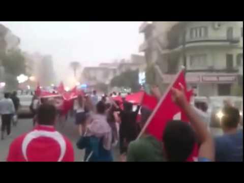 Gazimağusa'da Şehitlere Saygı ve Anma Yürüyüşü