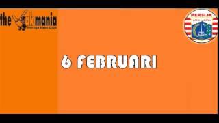 Lagu Persija   6 Februari Video