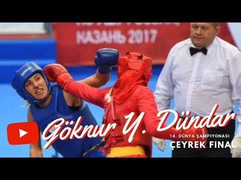 Göknur Yasin Dundar 14. Dünya Wushu Şampiyonası Kadınlar 65 KG Çeyrek Final performansı.