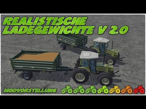 Realistic loading weights v3.0
