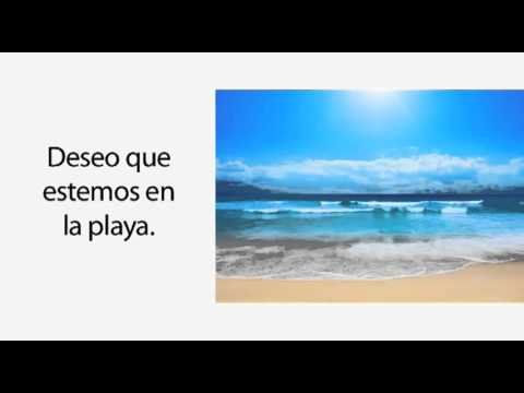 Learn Spanish 31   When to Use the Subjunctive WEIRDO! part 2)