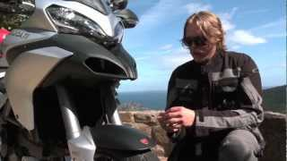 2. 2013 Ducati Multistrada 1200 S Touring Full Review with Tor Sagen
