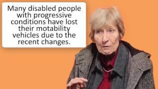 Baroness Celia Thomas Speaks to MDUK About PIP Reform & Motability
