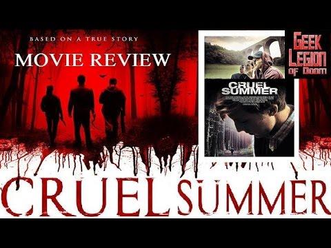 CRUEL SUMMER ( Danny Miller 2016 ) Chav Bullying Horror Movie Review