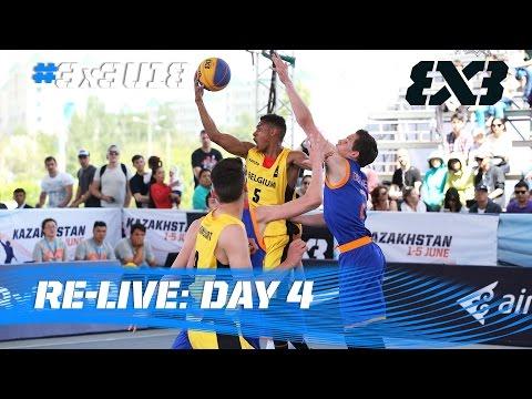 Чемпионат мира FIBA 3x3 U18. Прямая трансляция из Астаны