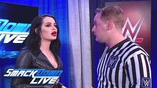 Nonton Paige Demands Answers From A Referee  Smackdown Live  Dec  11  2018 Film Subtitle Indonesia Streaming Movie Download