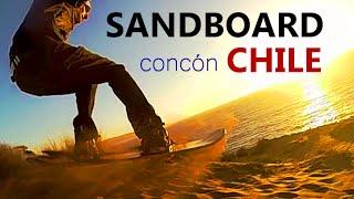 Concon Chile  city photo : Sandboard Concón Chile - GoPro 3 Black Protune Slow Motion