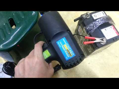 CHICAGO Electric Power Tools - 12V Impact Wrench