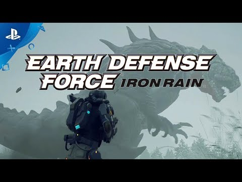 Earth Defense Force: Iron Rain - 2nd Trailer | PS4