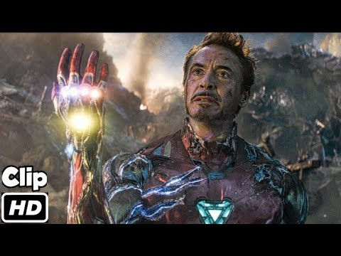 Iron Man Snap Scene (Hindi)   Avengers Endgame   Movie Clip HD   4K   IMAX