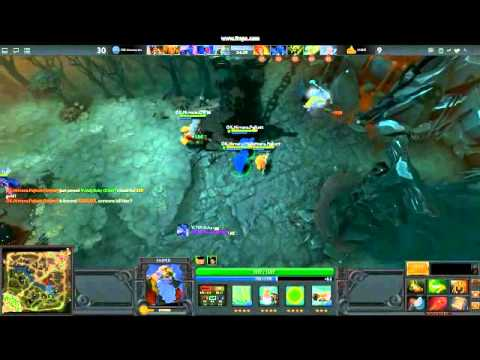 Dota 2 first rampage ever