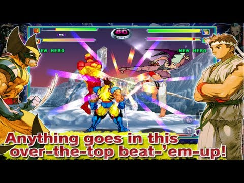 Marvel vs. Capcom 2 : New Age of Heroes IOS