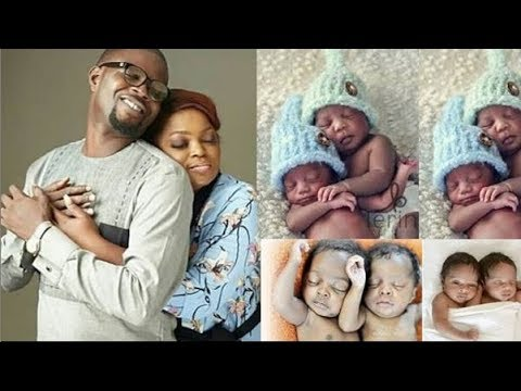 Funke Akindele Gives Birth To Set Of Twins - Congratulation To Her & JJC Skillz