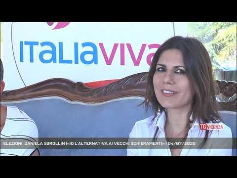 ELEZIONI, DANIELA SBROLLIN I«IO L'ALTERNATIVA AI VECCHI SCHIERAMENTI» | 04/07/2020