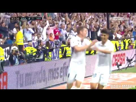 Real Madrid vs Sevilla 4 1   All Goals & Highlights   La Liga 14 05 2017 HD