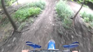 8. yz85 trail riding go pro 8/5/2013 part 2