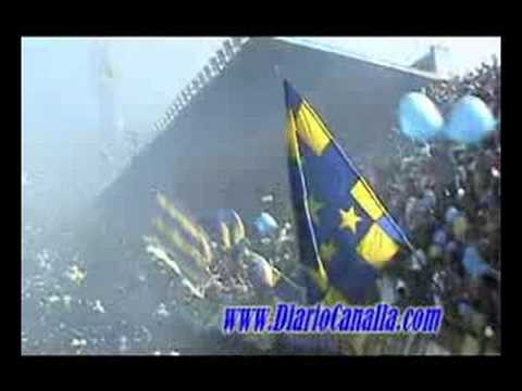 Video - Recibimiento Rosario Central vs Pechos - Los Guerreros - Rosario Central - Argentina