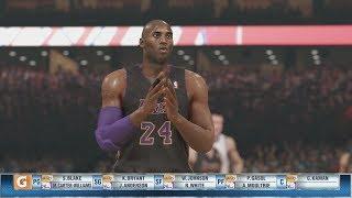NBA 2K14 (PS4): Sixers vs Lakers - 2nd Quarter