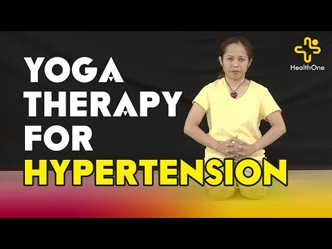 Yoga Therapy For Hypertension | By Christie | Murali Kameti | TeluguOne Health