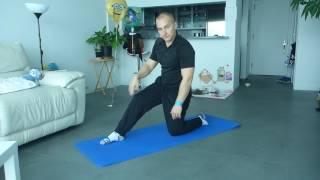 Quadriceps Stretching Warm-Up