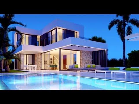 New villas of high-tech style at a unique suburb of Benidorm. PROFITABLE INVESTMENT ACQUISITION!
