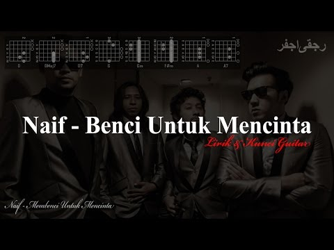 Video Naif - Benci Untuk Mencinta (Lirik & Kunci Gitar) download in MP3, 3GP, MP4, WEBM, AVI, FLV January 2017