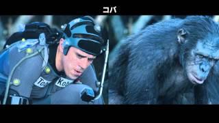 『猿の惑星:新世紀(ライジング)』エモーション・キャプチャー収録メイキング映像