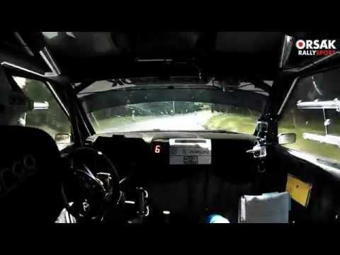 onboard sepp wiegand - rally thüringen rallye 2015 - ss4 rk bankschenke