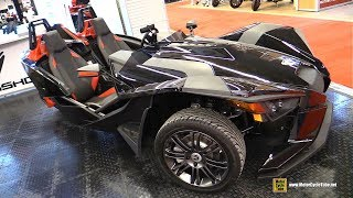 8. 2018 Polaris Slingshot S Accessorized - Walkaround - 2018 Montreal Motorcycle Show