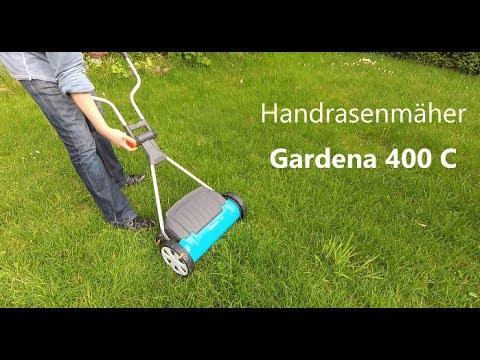 GARDENA 400 C Spindelmäher REVIEW TEST hand push lawn mower