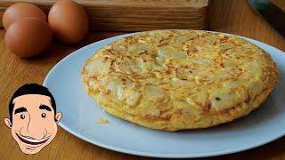 Video MOUTHWATERING SPANISH OMELETTE | How to Make Potato Omelette | Tortilla De Patatas Española MP3, 3GP, MP4, WEBM, AVI, FLV Mei 2019