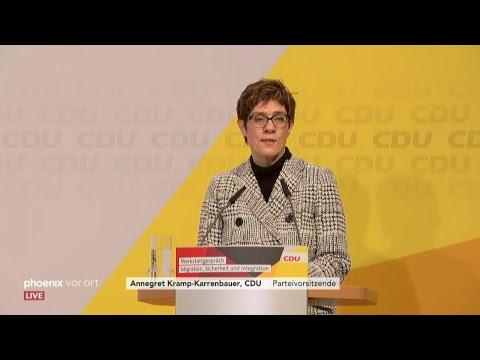 Abschluss »Werkstatt-Gespräch« der CDU zu den Themen  ...
