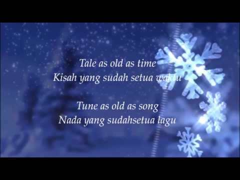 Beauty And The Beast - Ariana Grande Ft John Legend - Lyric Indonesia Mp3