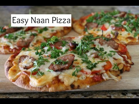 Easy Naan Pizza