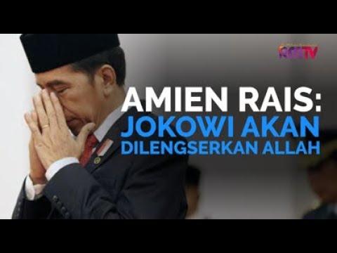 Amien Rais: Jokowi Akan Dilengserkan Allah