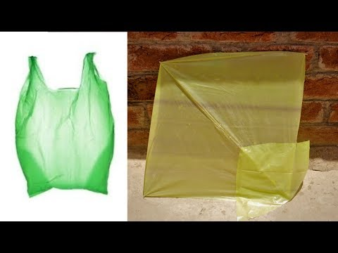 Shopper Kite | How to make a plastic bag kite