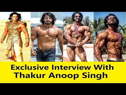 Thakur Anoop Singh Motivational Bodybuilding Interview   MR.WORLD   Movie Commando 2 Villain   2019