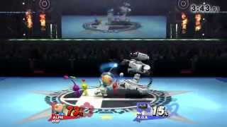 Smash 4 Olimar / Alph Combos, Strings and Stuff