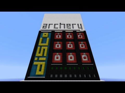 Minecraft disco Archery