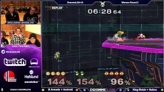 Armada and Android 8 stocking some poor souls and finishing with the wombo-est of combos.