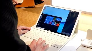 Huawei MateBook - Hands-On (deutsch) - http://giga.de - Huaweis MateBook-Tablet setzt auf Windows 10 und kann ist in verschiedenen Konfigurationen erhältlich...