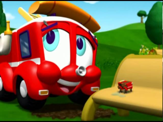 Смотреть Финли Пожарная машина  Новая игрушка Финли