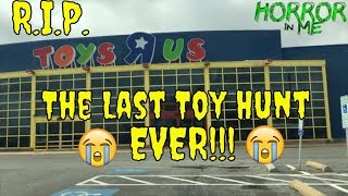 Video Toy Hunting- The Last Toys R Us Hunt FOREVER w/Horror in Me MP3, 3GP, MP4, WEBM, AVI, FLV Juni 2018
