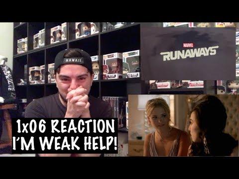RUNAWAYS - 1x06 'METAMORPHOSIS' REACTION
